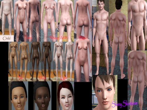 Variant does Downloads nude sims skin have